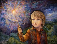 Josephine Wall, Young wizard